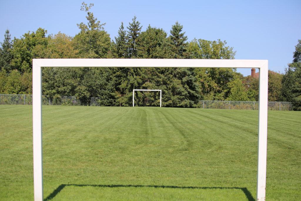 Huronia North Park goal posts