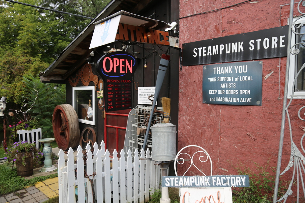 Steampunk Store in Coldwater