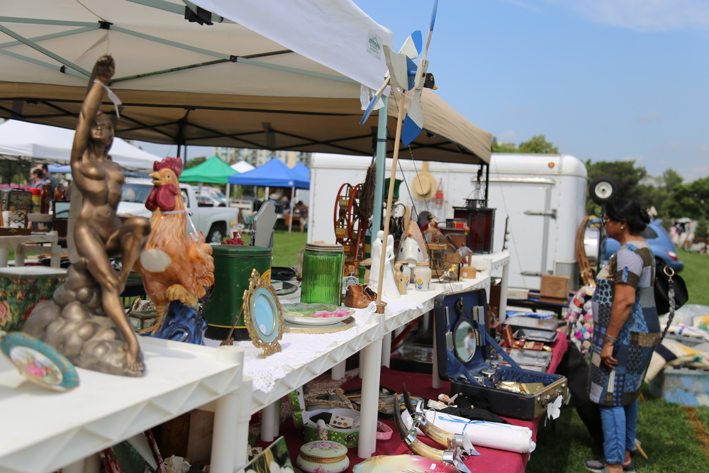 Artisans at Kempenfest in Barrie