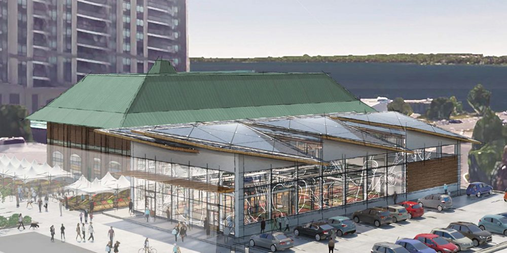 Barrie Downtown Public Market rendering