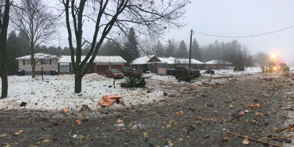 House explosion in Caledon; 54 year old man killed