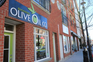 Barrie Olive Oil Downtown at 45 Dunlop Street East