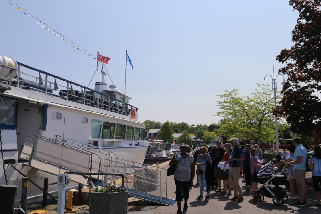 Miss Midland boat cruise Georgian Bay