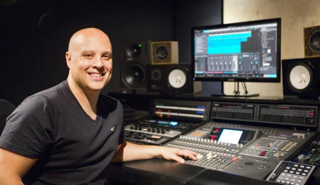 Owner of mix11 Studios, Daryl Sarnat