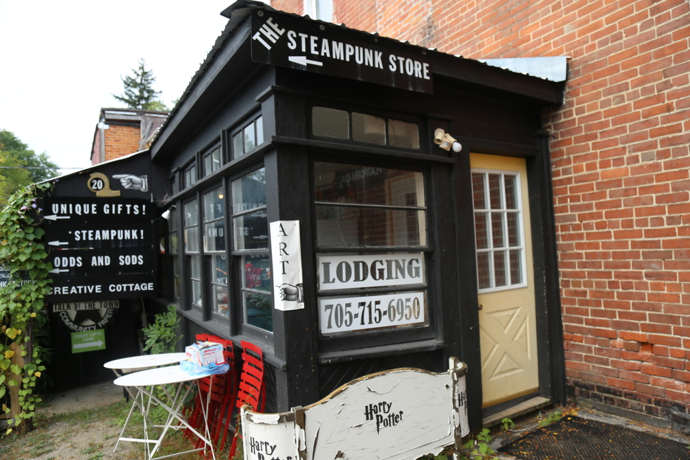 The Steampunk Store in Coldwater, Ontario