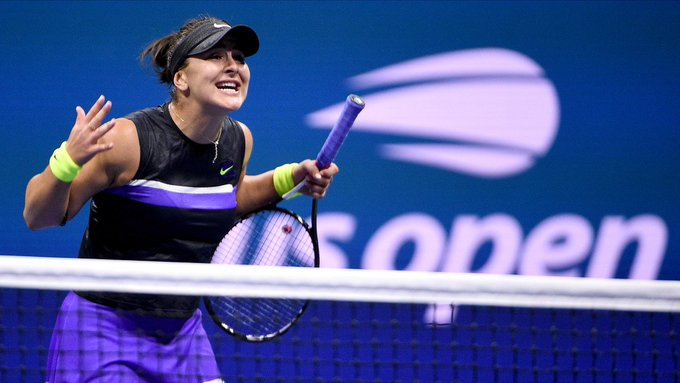 Bianca Andreescu named Canadian Press Athlete of the Year
