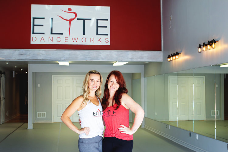 Brittany Lavigne  and Jillian Harrison, Co Owners of Elite Danceworks