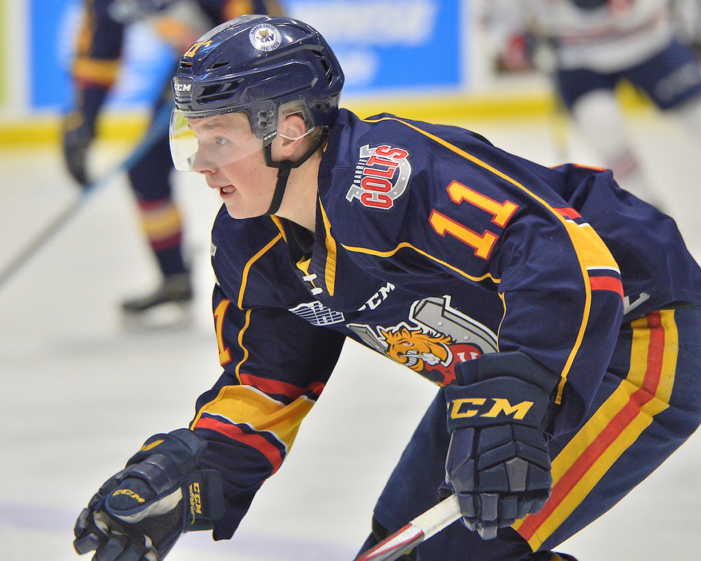 Barrie Colts' Clarke and Cardwell picked up at NHL Entry Draft