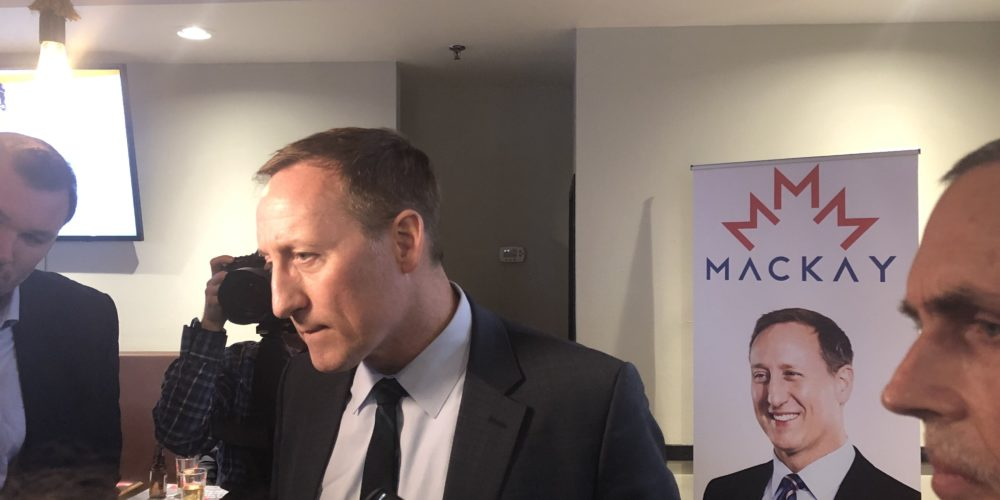 Peter MacKay wont rule out run at Tory leadership but