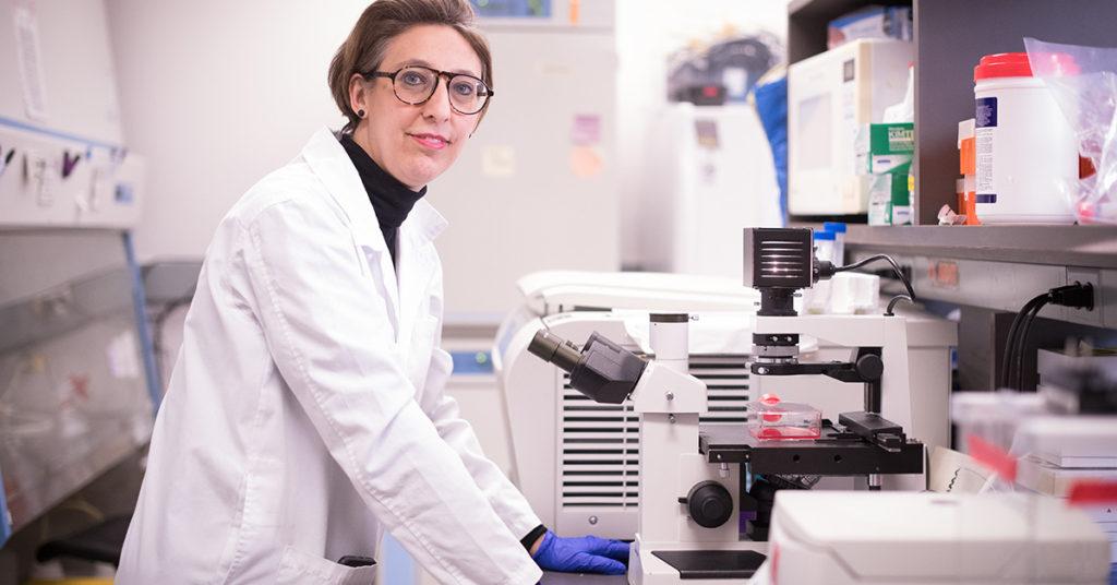 Dr. Samira Mubareka, a medical microbiologist at Toronto's Sunnybrook Hospital, helped isolate the novel coronavirus