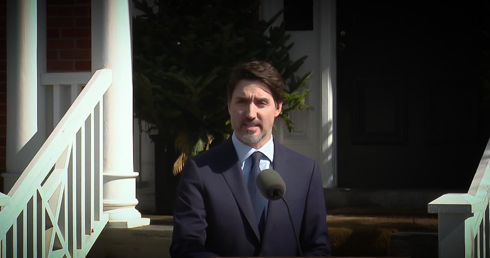 Justin Trudeau Covid 19