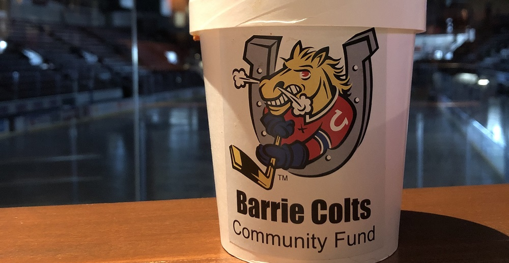 Barrie Colts deliver 30,000th meal as team continues to provide for essential workers and those in need
