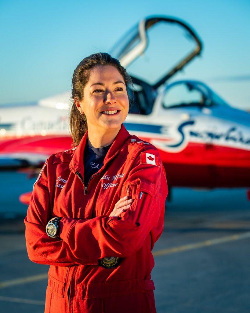 CF Snowbirds identified the dead team member as Capt. Jenn Casey.