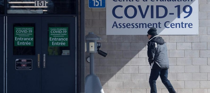 """there was a """"glitch"""" in the province's COVID-19 reporting on Friday."""