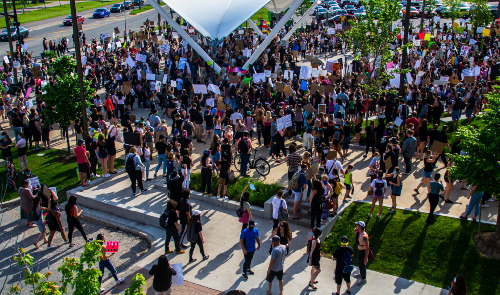Chief of Barrie Police Service issues statement following peaceful protest in downtown Barrie