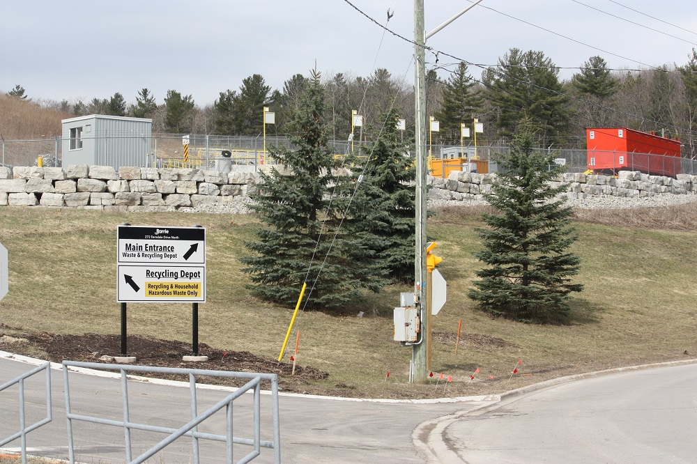 Recycling depot opens today at Barrie landfill site; no more waiting in line at the weigh scale