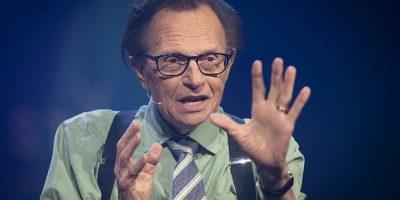 Larry King, veteran talk show host, has died at 87