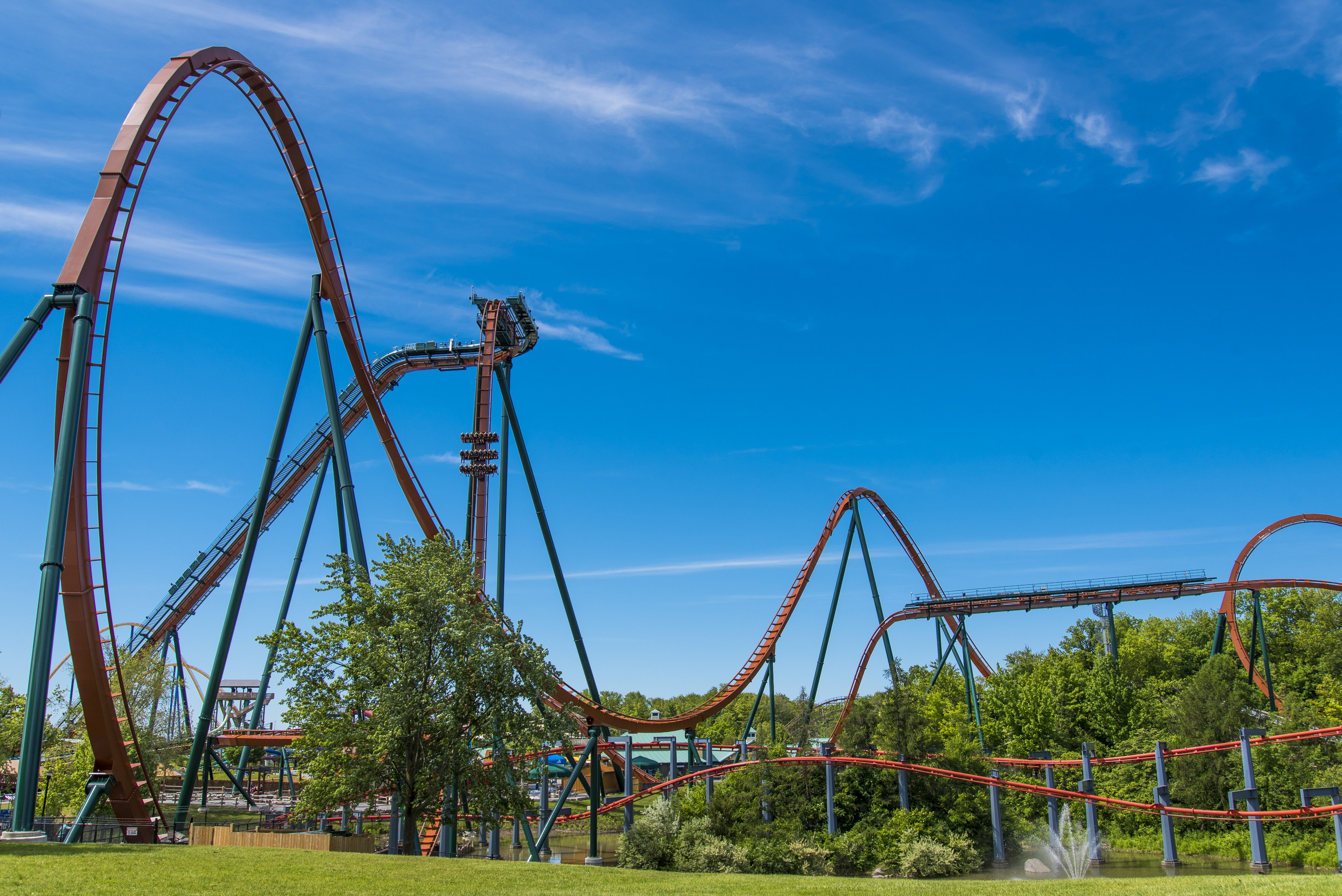 The Yukon Striker, one of the newest attractions at Canada's Wonderland, now set to reopen this Summer.