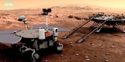 In major milestone, China successfully lands Zhurong rover on Mars