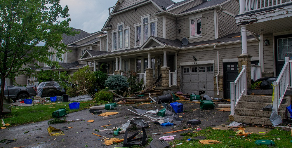 City of Barrie provides update on damage caused by tornado