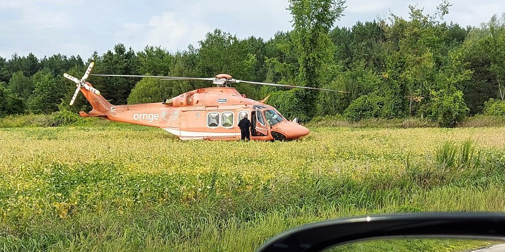 Two hurt in collision with tractor-trailer near Alliston