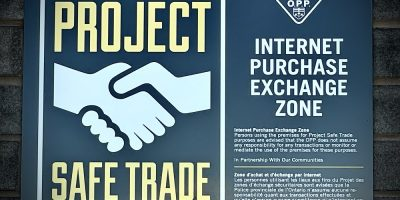 Orillia OPP launch Project Safe Trade